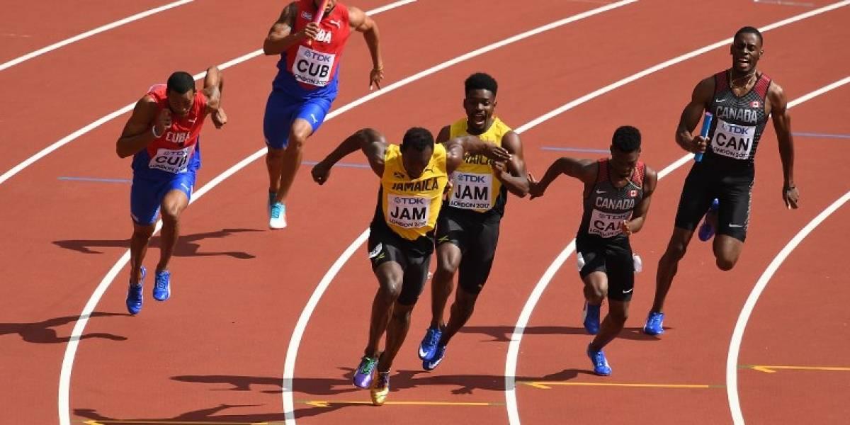 Jamaica avanzó a la final de los 4x100 metros en la penúltima carrera de Usain Bolt