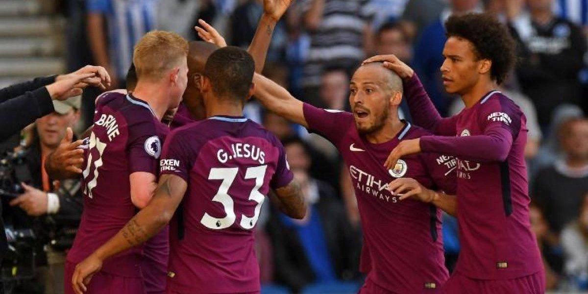 Manchester City de Claudio Bravo comenzó la Premier League ganando de visita