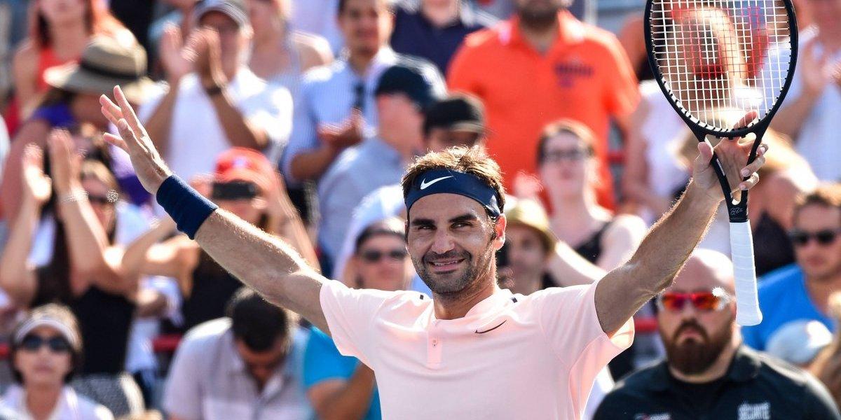Su Majestad Roger Federer avanza a la final del Masters 1000 de Montreal