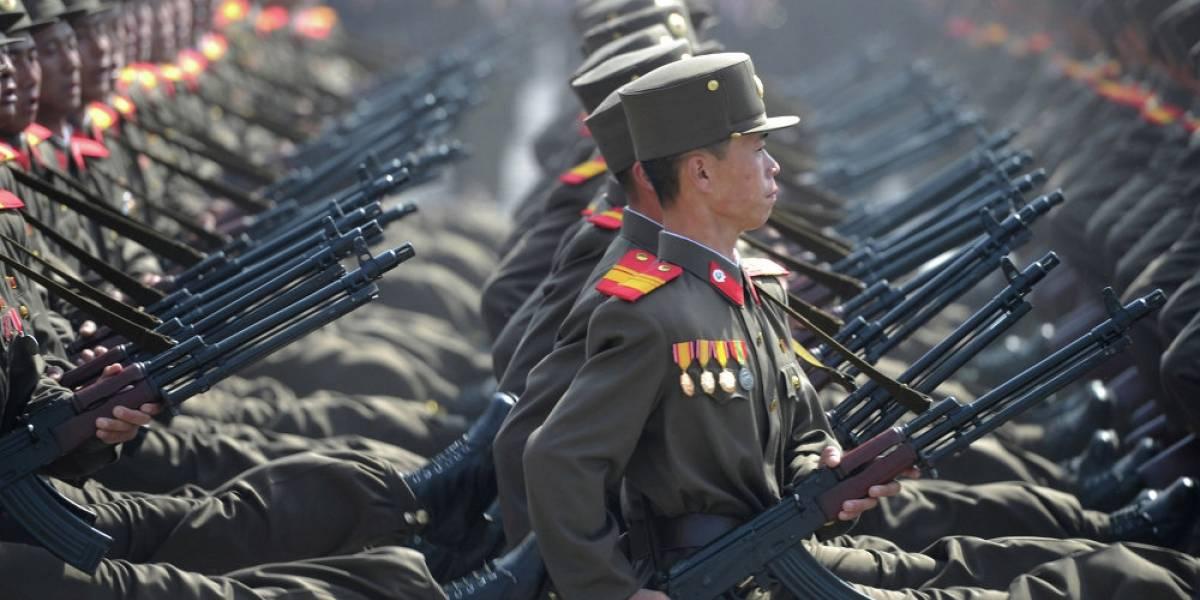 Dispuestos 3.5 millones de norcoreanos a batallar contra Trump