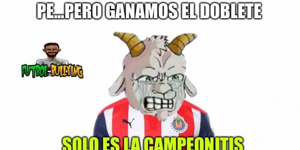 Los mejores memes de la goleada que recibió Chivas ante Rayados