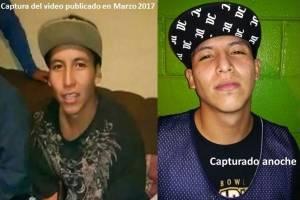 Bryan Eduardo Santos Chinchilla, pandillero que aparece en el video portando armas de fuego