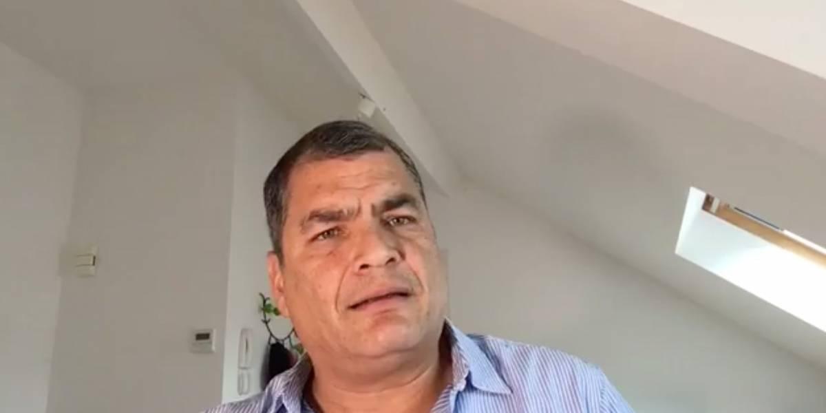 Moreno busca inhabilitarme para próximas elecciones — Correa