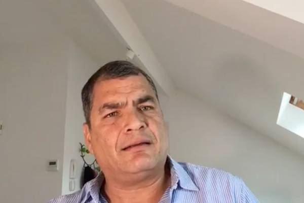 Rafael Correa: Pensé que había dejado la patria en puerto seguro