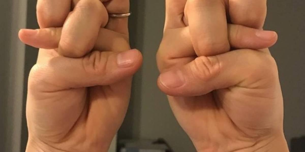 El reto con dedos que enloquece a usuarios de las redes