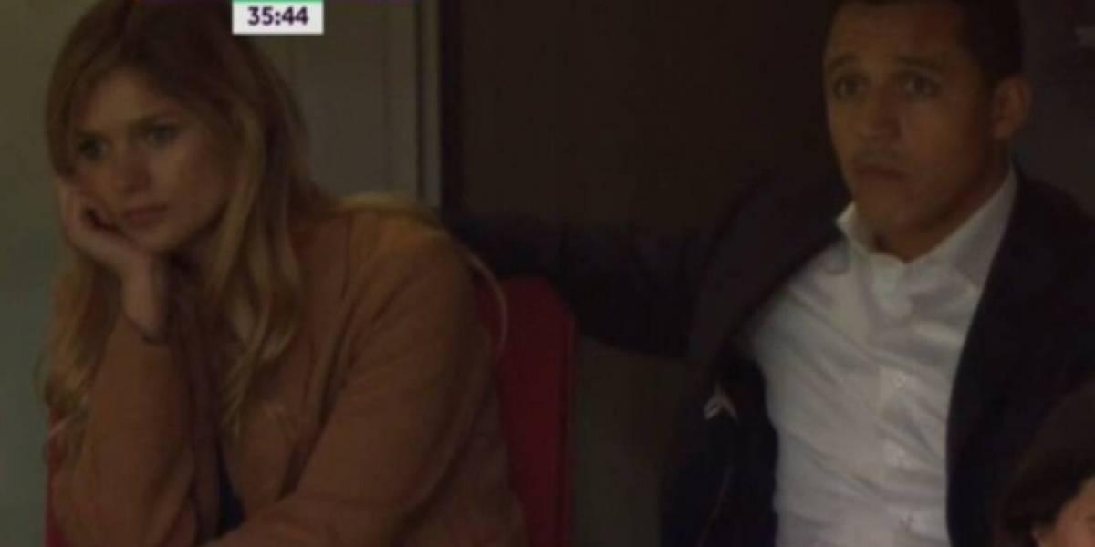 Mayte Rodríguez explica su cara de aburrida en partido del Arsenal
