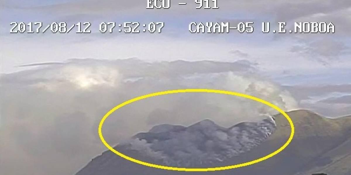 205 hectáreas afectadas por incendio forestal en cerro Imbabura