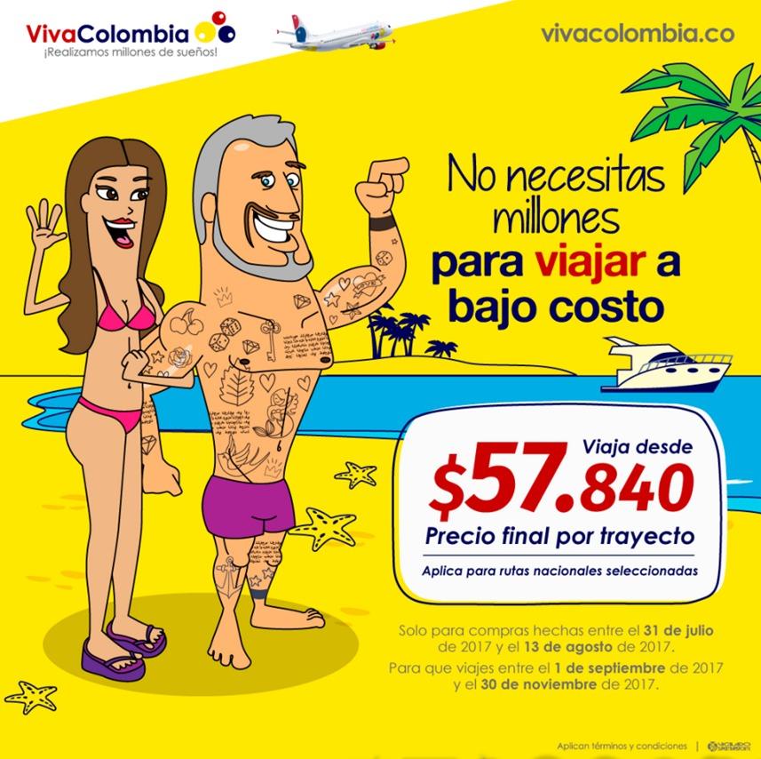 Publicidad de VivaColombia