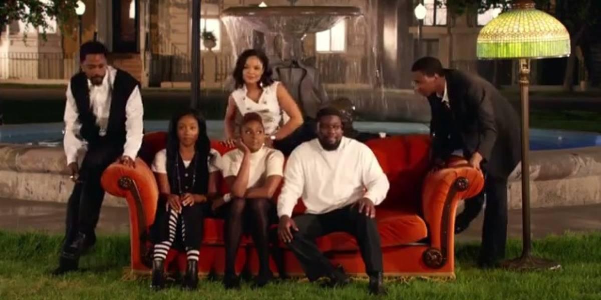 Jay-Z recria a série 'Friends' com atores negros no clipe de 'Moonlight'