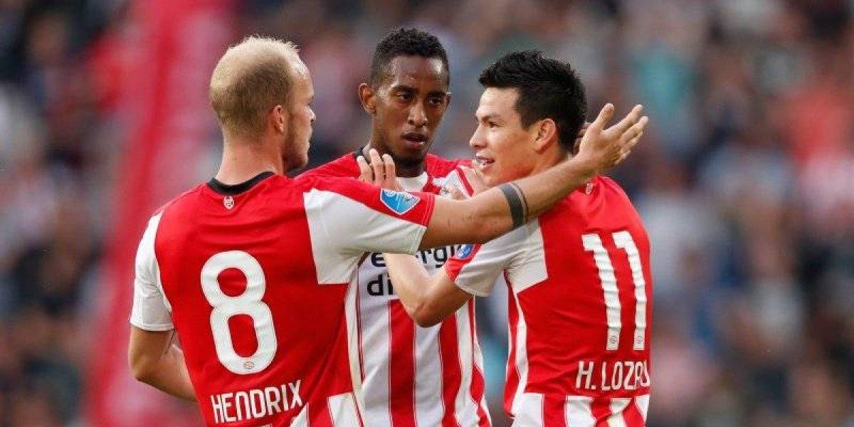 VIDEO: 'Chucky' Lozano se estrena como goleador con el PSV