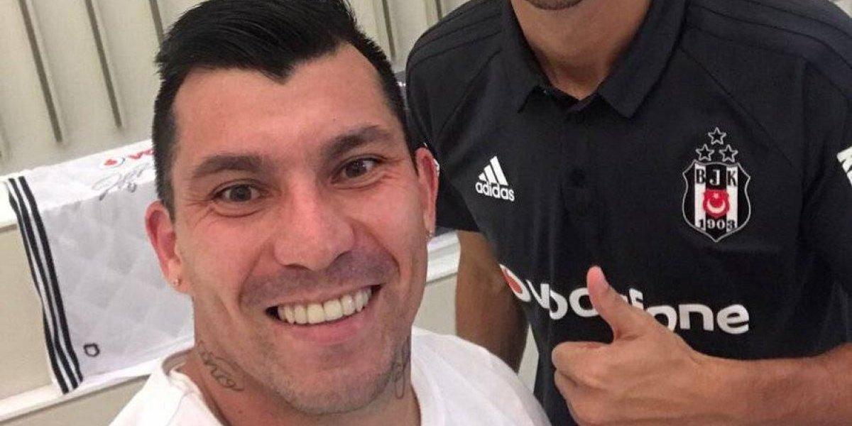 Gary Medel y la compañía con Pepe en Besiktas: