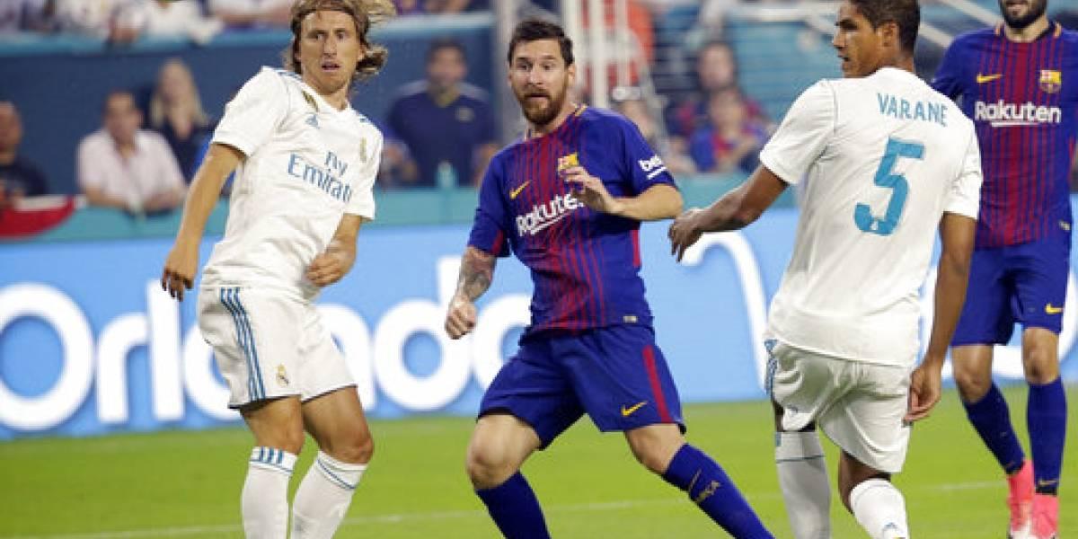 Duelo de gigantes en la ida de la Supercopa de España
