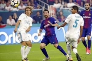 Messi en el clásico jugado en Miami