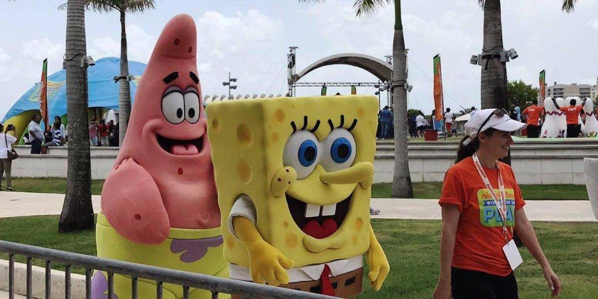 Nickelodeon celebra evento mundial en Puerto Rico