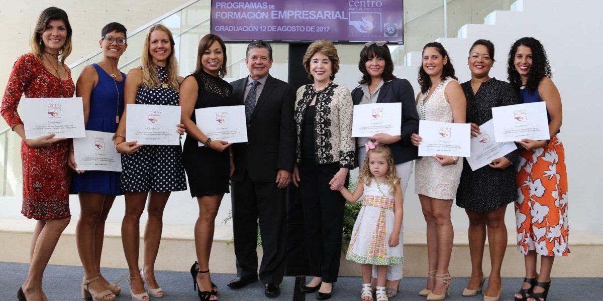 Centro para Puerto Rico gradúa nueva cepa de empresarios