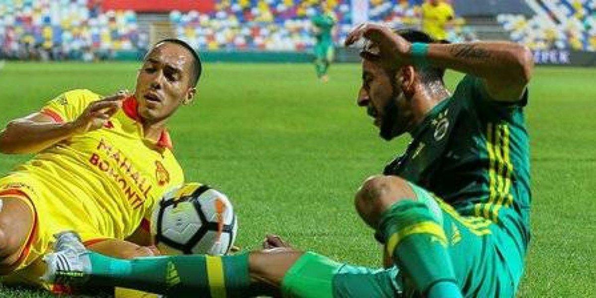 Fenerbahce de Mauricio Isla igualó ante equipo recién ascendido en el comienzo de la Superliga turca
