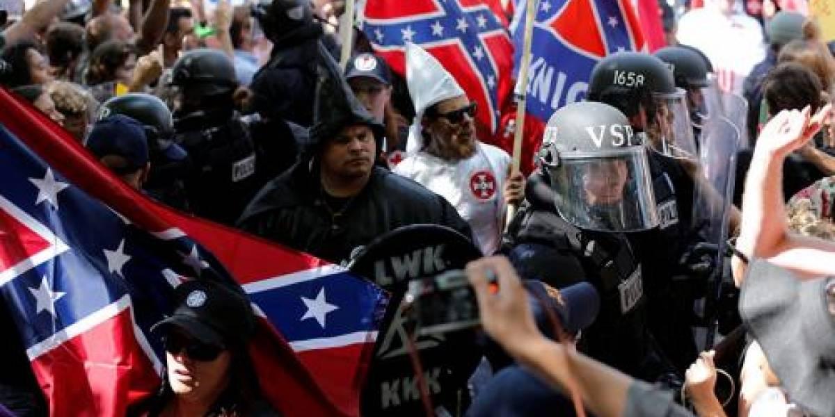Declaran estado de emergencia en Virginia por marcha de grupos racistas