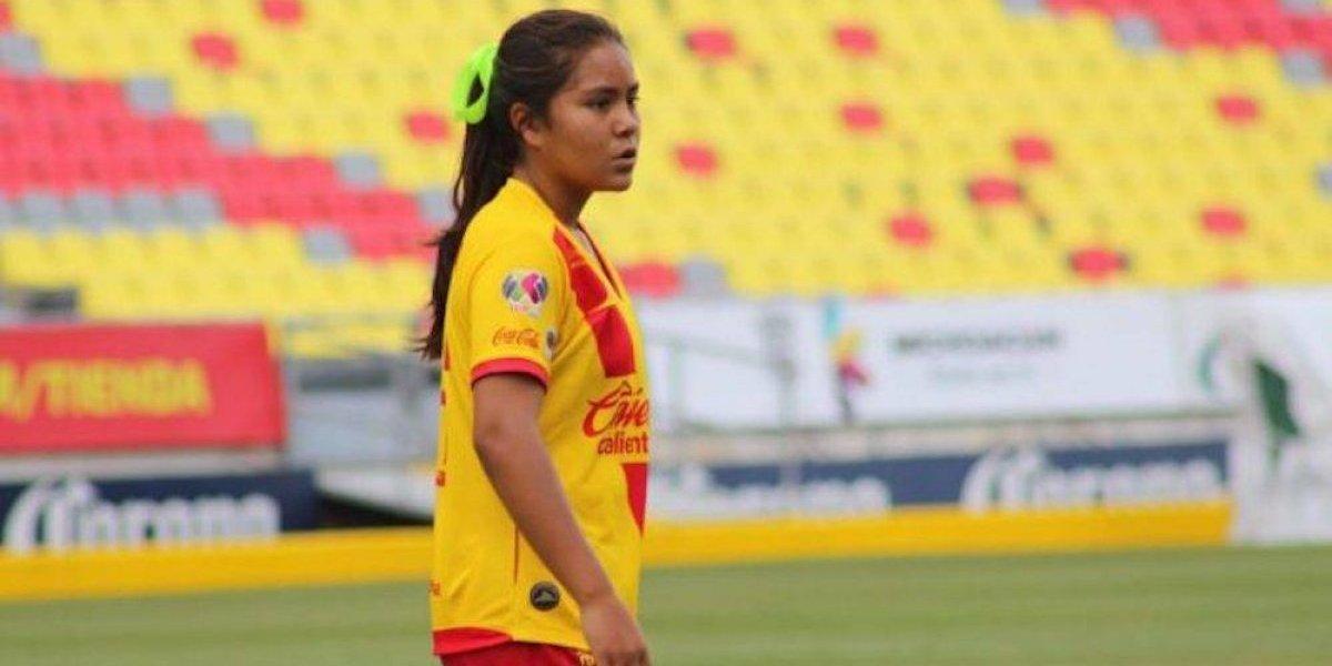 Con 12 años, Layla García debutó en Liga MX Femenil