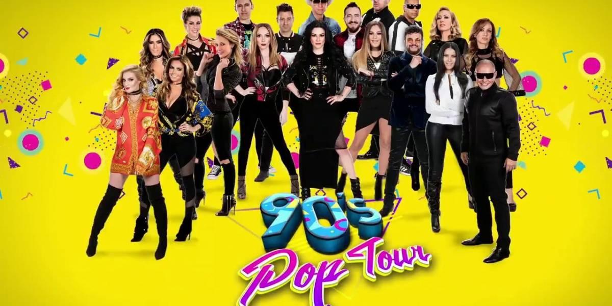 '90's Pop Tour' abre nueva fecha en la Arena Ciudad de México