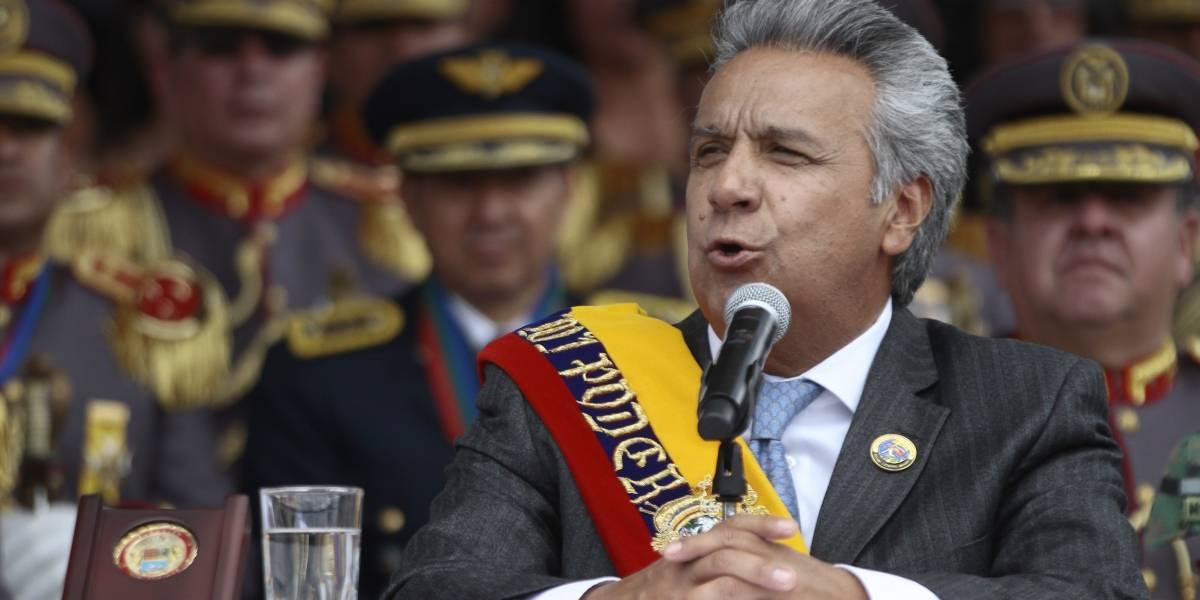 Lenín Moreno dijo que no fue elegido para