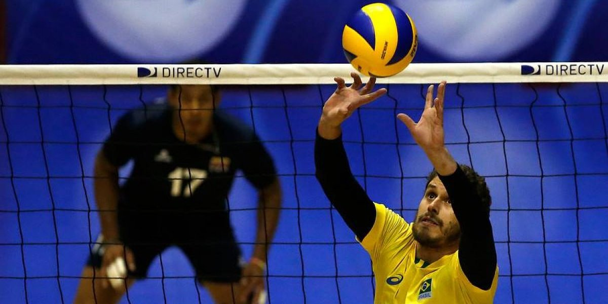 """Capitán de la selección brasileña de vóleibol: """"El cariño ha sido muy bello, esperamos volver muchas veces"""""""