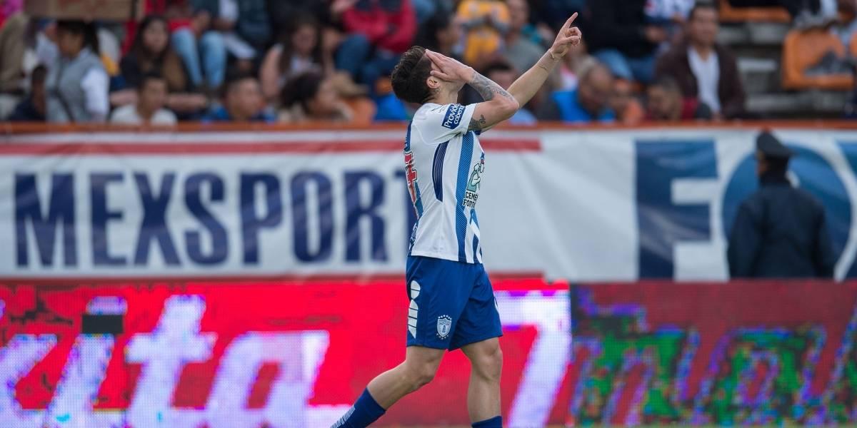 Pachuca venció a Tigres de Vargas con el primer gol de Ángelo Sagal en la Liga MX