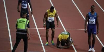 El drama vivido por Usain Bolt