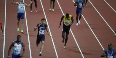 El relevo no termino bien para Bolt