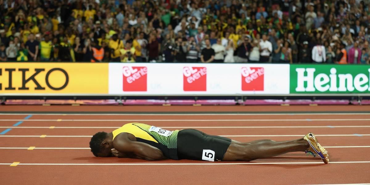Revelan la razón de la lesión con la que Bolt se despidió del Atletismo