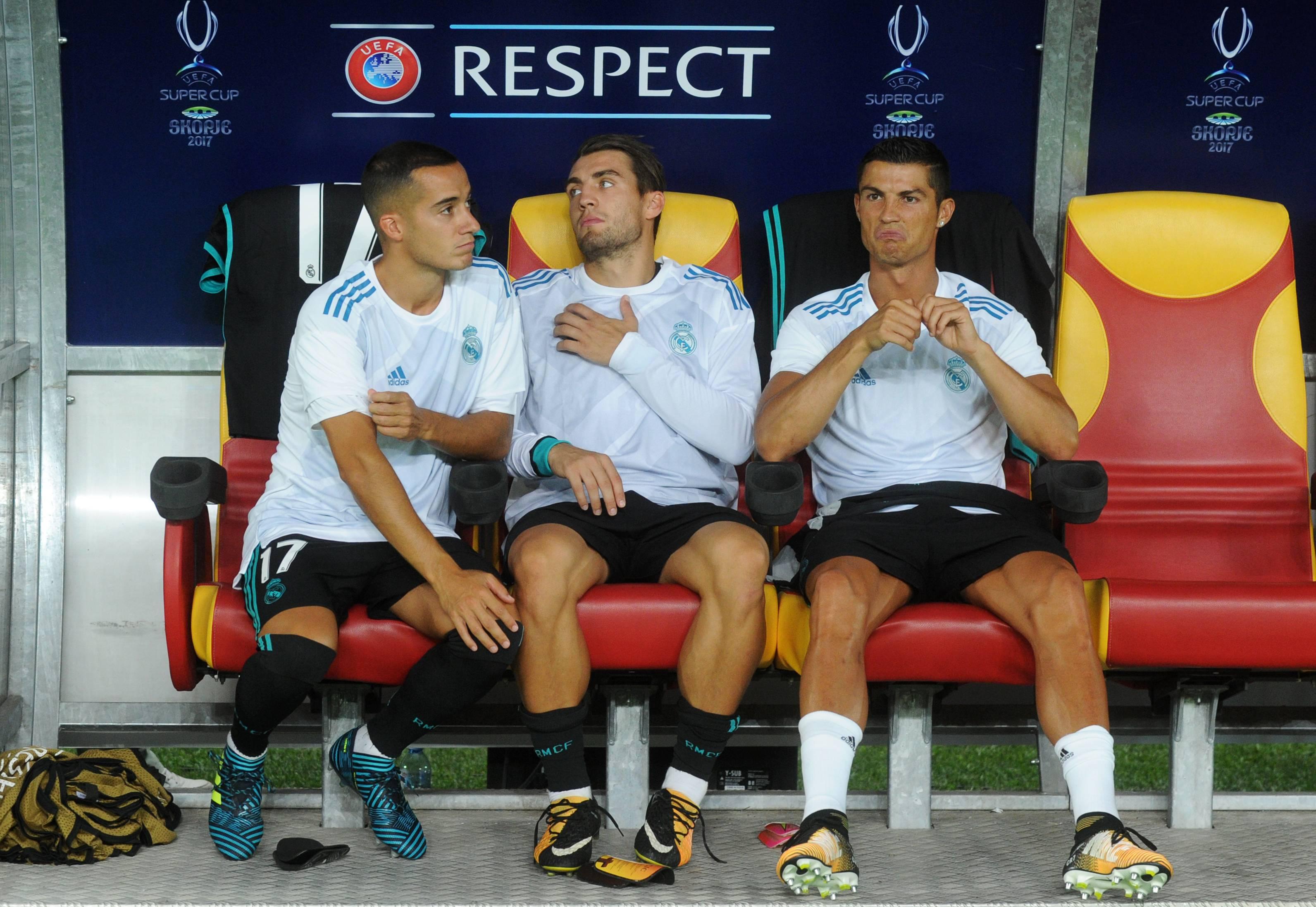 Cristiano Ronaldo iniciará en la banca.