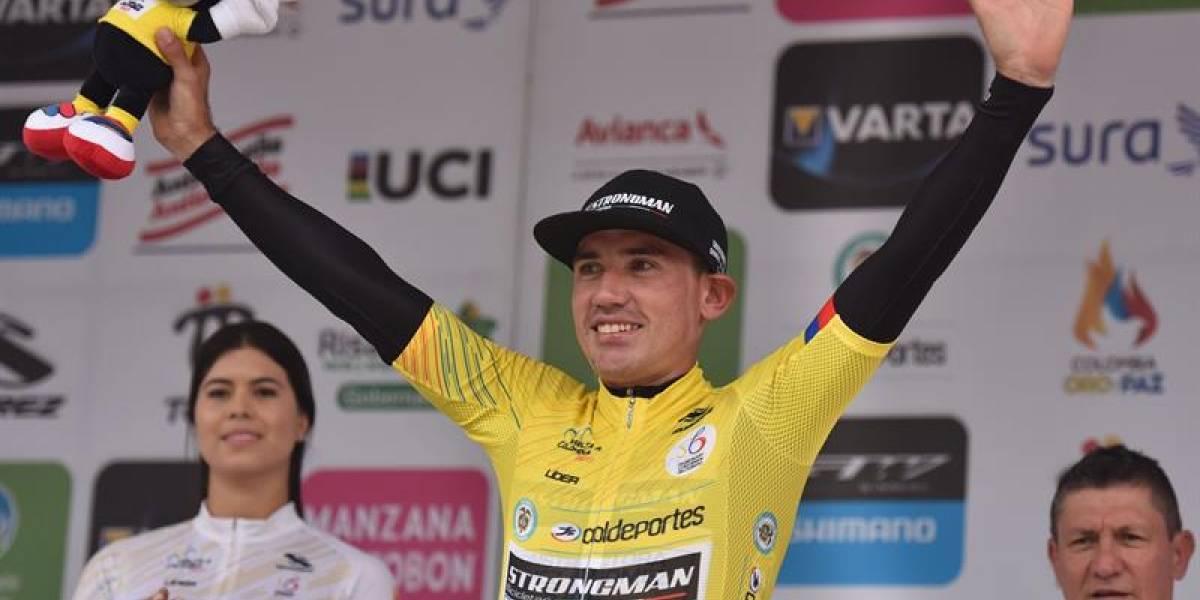 Aristóbulo Cala se coronó campeón de la Vuelta a Colombia