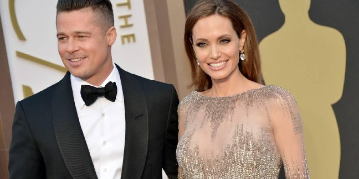 Detenido el divorcio entre Angelina Jolie y Brad Pitt