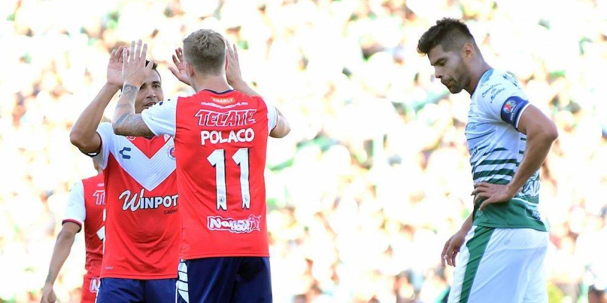 Santos sigue sin ganar, Veracruz va en ascenso