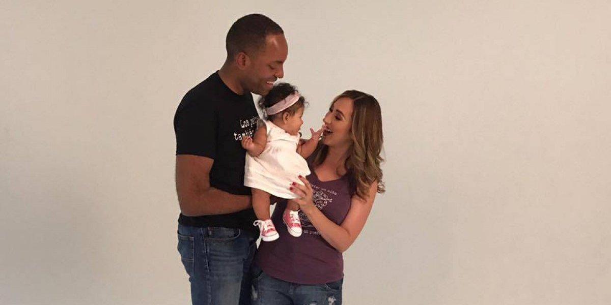 Julio Rivera Saniel y Milly Méndez celebran los 6 meses de su beba