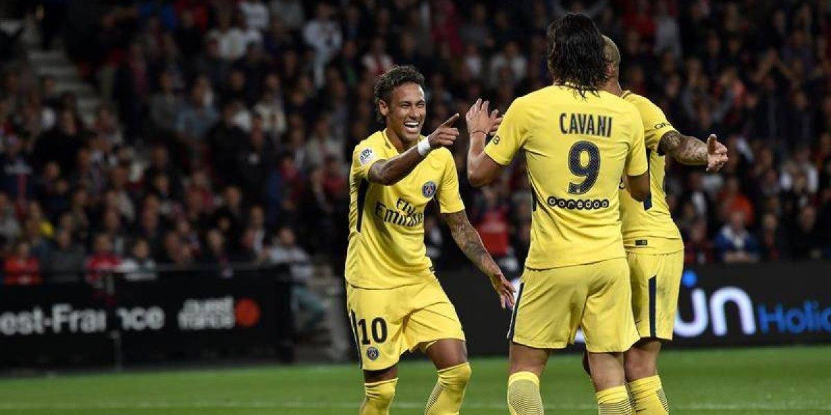 Neymar protagonizó un debut soñado al liderar el triunfo del PSG
