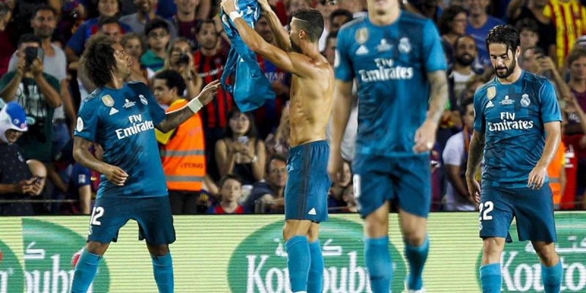 Cristiano comandó el soberbio triunfo del Real Madrid sobre Barcelona por la Supercopa