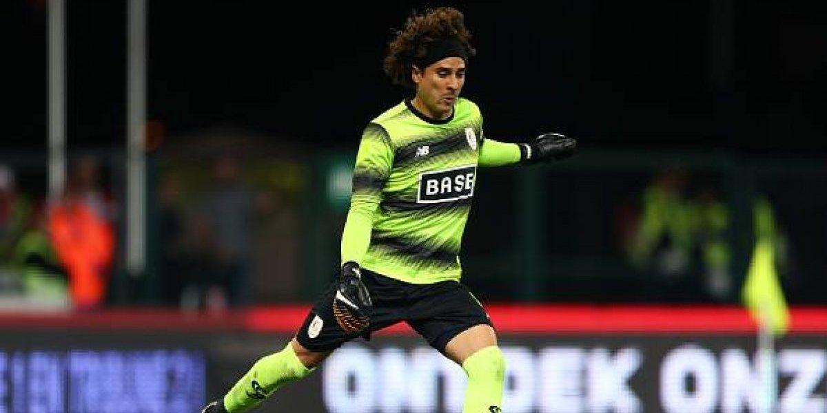 Ochoa sufre su primera derrota en la Liga de Bélgica