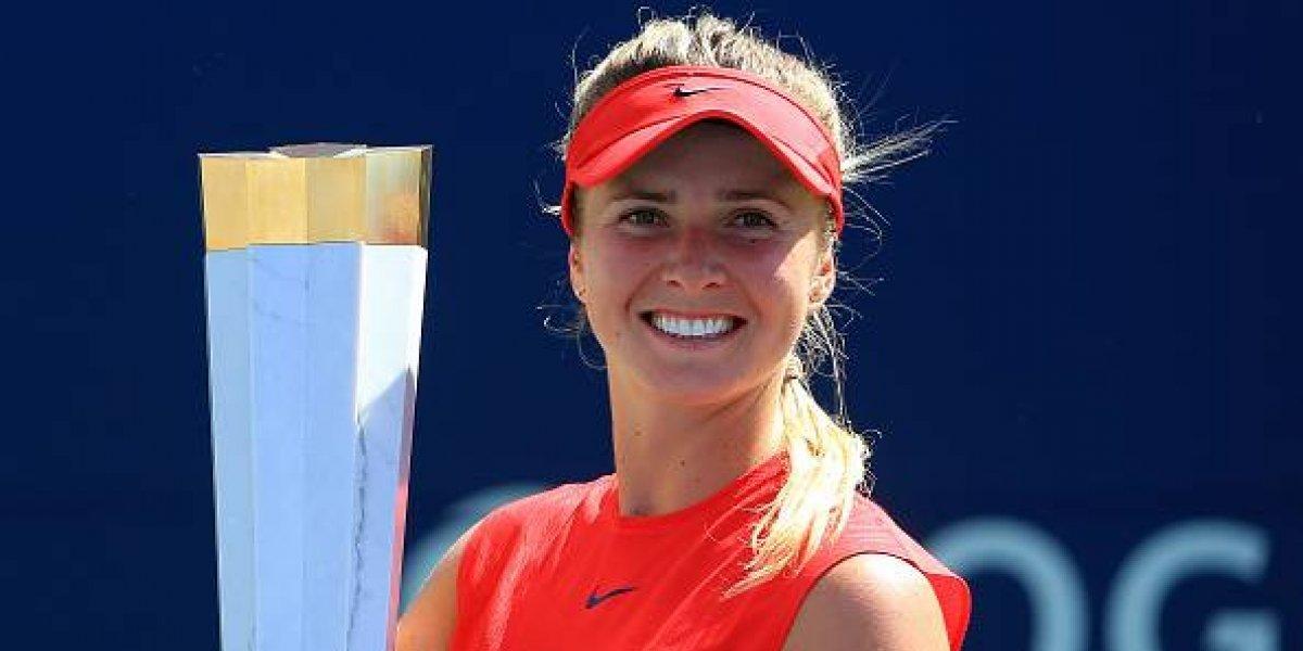 Elina Svitolina, campeona de la Rogers Cup