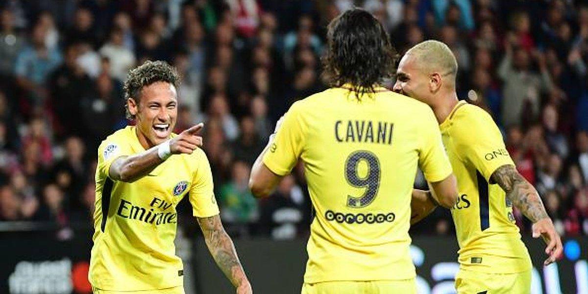 Neymar tiene debut soñado con el PSG