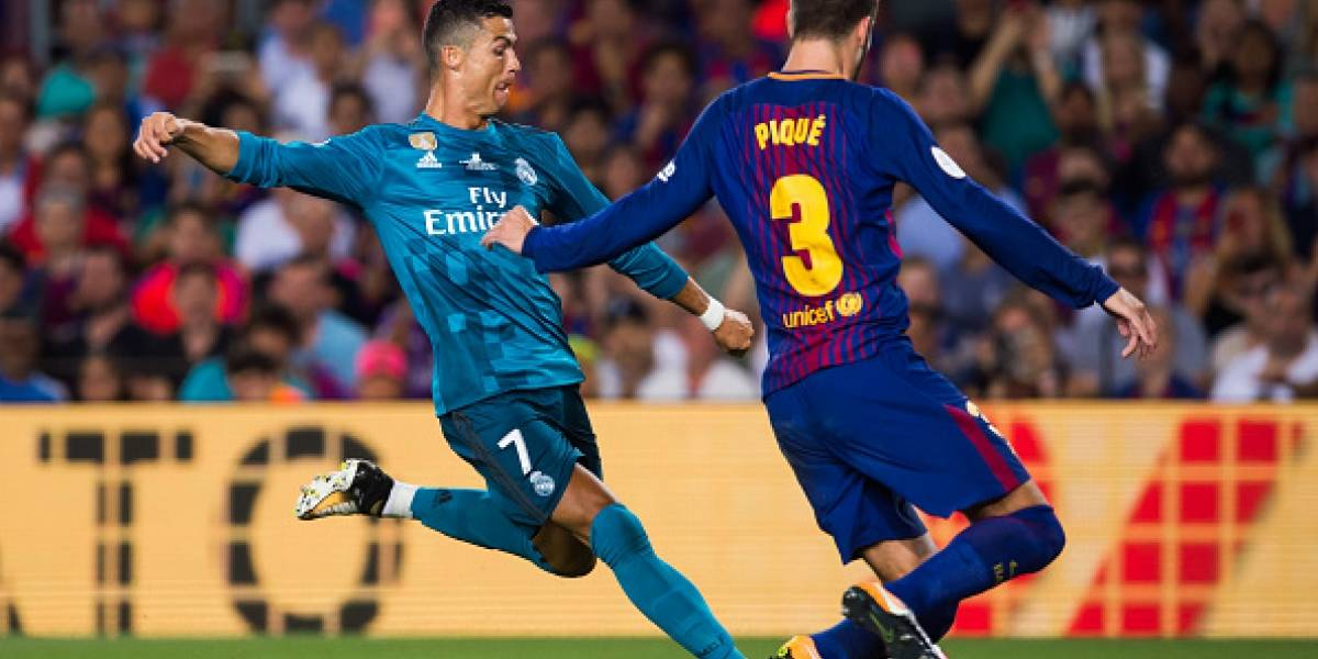 Real Madrid gana al FC Barcelona en la ida de la Supercopa de España