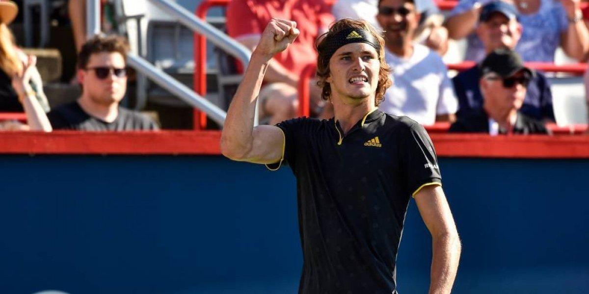 Zverev venció a Federer en la final del Masters de Montreal