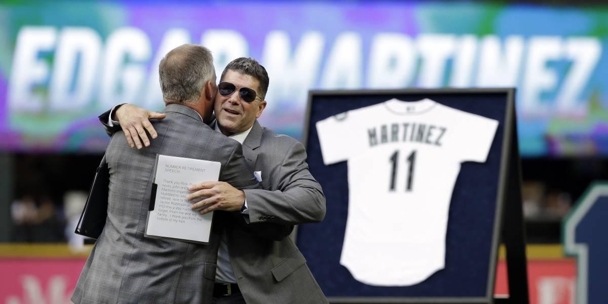 Retiran el número de Edgar Martínez en Seattle