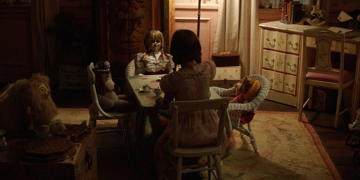 Segunda entrega de la saga Annabelle lidera taquillas