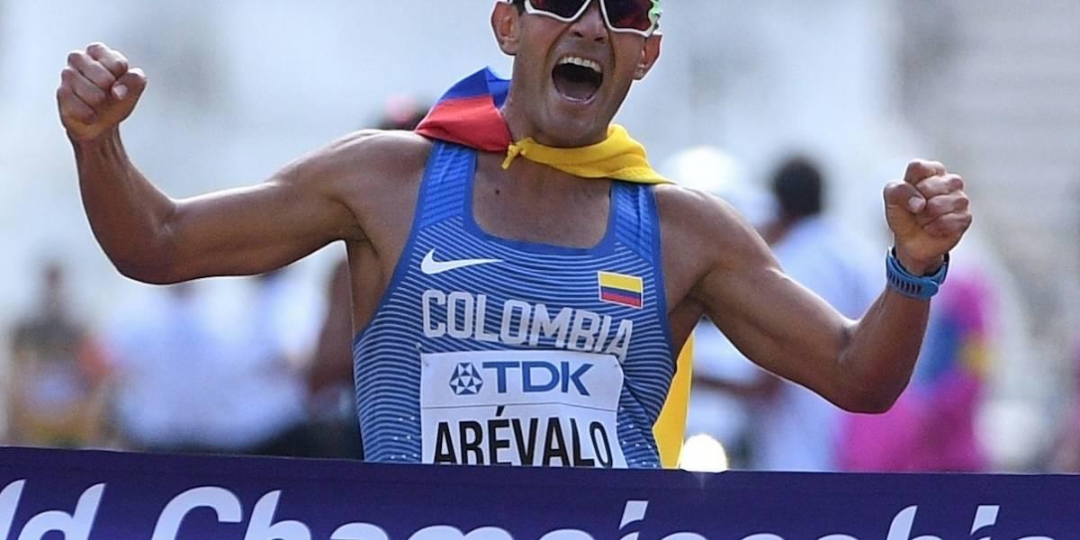 Eider Arévalo, campeón mundial de marcha