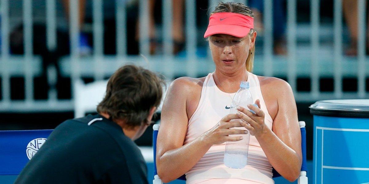 Maria Sharapova es baja por lesión en Cincinnati
