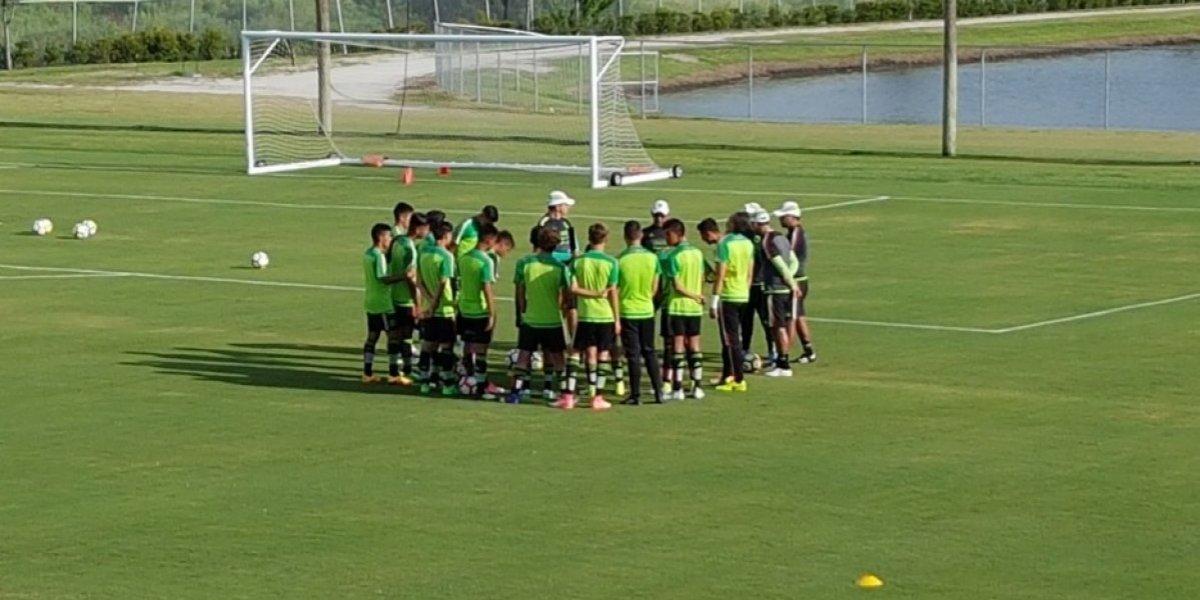 Tri Sub-15 debuta con goleada en Campeonato de Concacaf