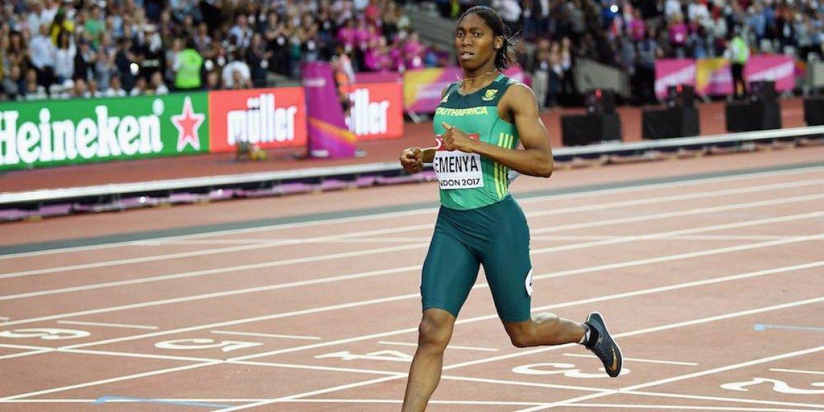 Caster Semenya sigue imbatible en los 800 metros