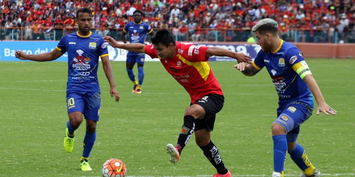 Deportivo Cuenca igualó con Delfín
