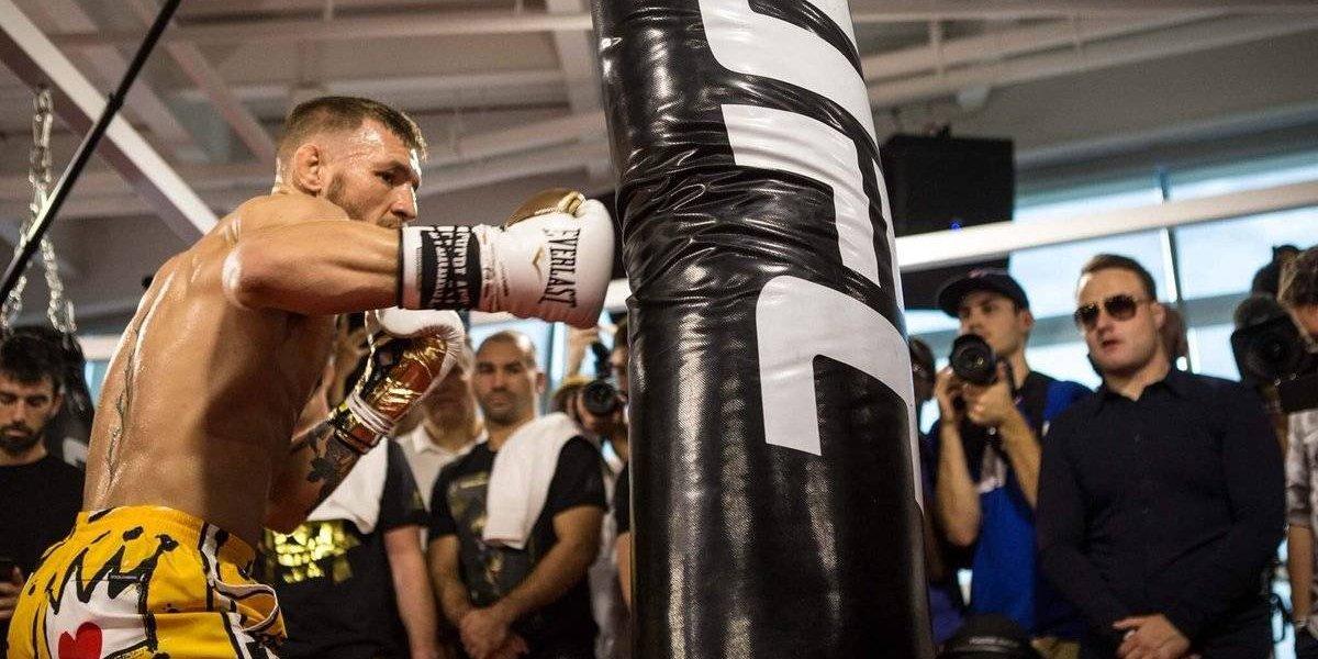 Presidente de la UFC presume habilidades boxísticas de McGregor
