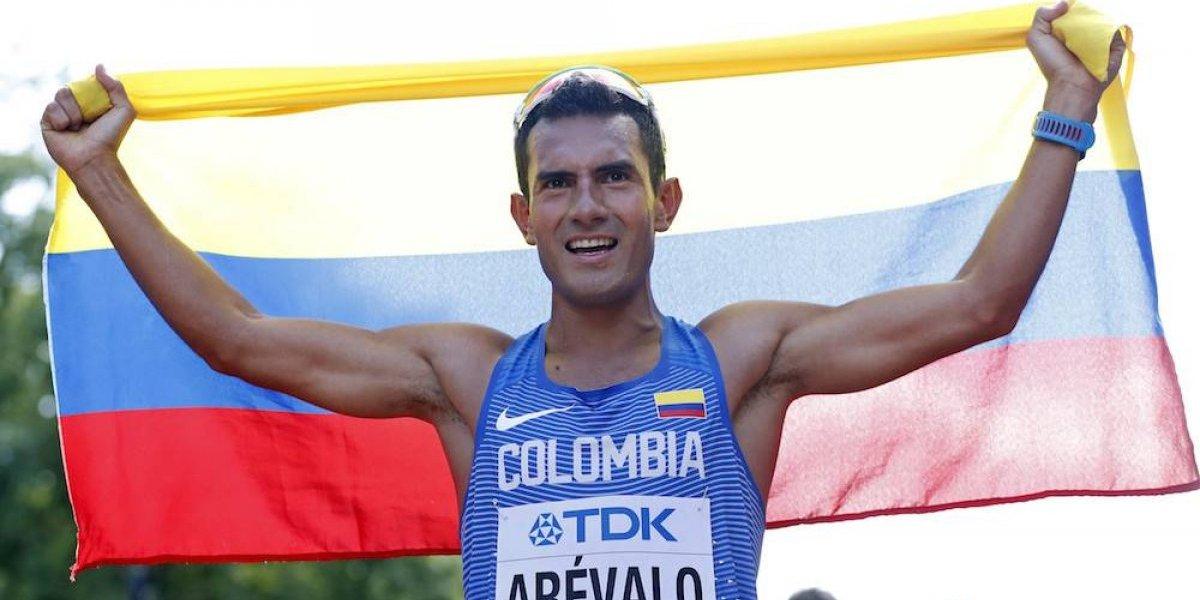 Eider Arévalo da oro a Colombia en caminata 20 kilómetros; mexicanos muy lejos